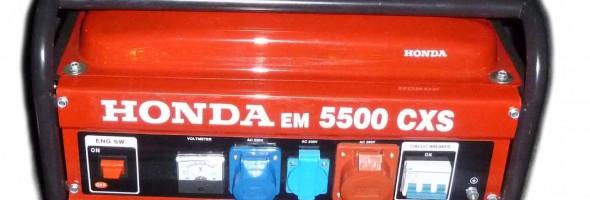 generator de curent honda em 5500 cxs