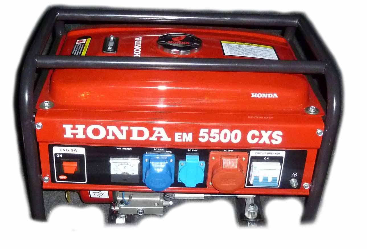 generator curent honda em 5500 cxs. Black Bedroom Furniture Sets. Home Design Ideas
