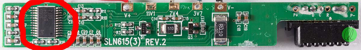 circuit control incarcare baterii litiu