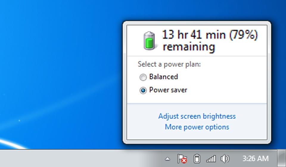 monitorizare baterie laptop